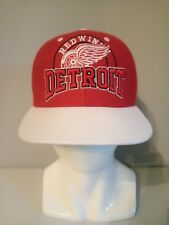 Detroit Red Wings Hat Red White Green NHL Snapback 47 Brand