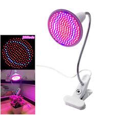 200LED Full Spectrum LED Grow Light Desk Lamp Flexible Gooseneck LED Clip Indoor
