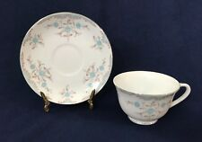 """""""PHOEBE"""" CUP SAUCER SET BY NARUMI MADE IN JAPAN PORCELAIN CHINA TABLEWARE"""