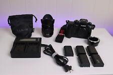 Panasonic GH5 w/ LUMIX G 12-35mm f2.8 II lens + Extras