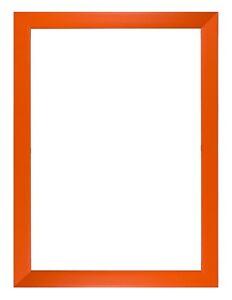 Rainbow Colour Range Picture Frames Photo Frames Poster Frames Orange ,Red Gloss