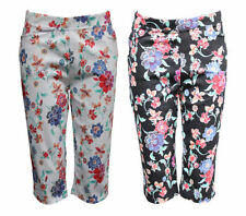 Hand-wash Only Regular Size Capris, Cropped Pants for Women