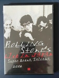 The Rolling Stones Live In Japan DVD