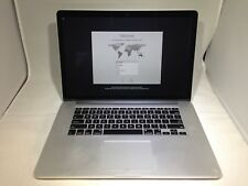 MacBook Pro Retina 15 Mid 2012 MC975LL/A 2.3GHz i7 8GB 256GB Fair READ