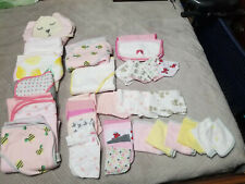 Huge lot of baby hoodded bath towles and wash cloths