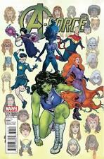 A-Force #1 Victor Ibanez 1:25  Variant Cover Marvel Disney 2016