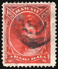 Hawaii #49 1883-86 $1 Rose Red VF Used Rare