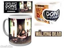 Tazza in ceramica The Walking Dead Faith Mug 9 cm ufficiale serie tv AMC