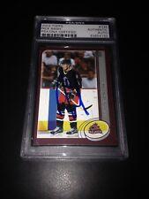 Rick Nash Signed 2002-03 Topps Rookie Card PSA #83854150
