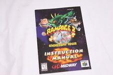 Nintendo 64 - Rampage 2 Universal Tour - Instruction Manual Only