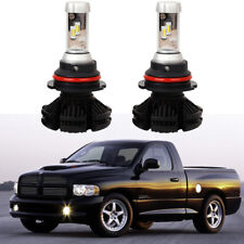 9004/HB1 LED Headlight Bulbs Kit For Dodge Ram Hi/Lo Beam 12000LM 6500K