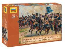 Zvezda 8057 SWEDISH DRAGOONS OF CHARLES XII 1/72