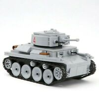 Lego WW2 Tank Military LT-38 Soldier Char D'assaut Allemand Vehicule toy figure