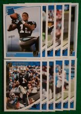 2018 Donruss Carolina Panthers Team Set. DJ Moore RC, Cam Newton. 12 Cards, 3 RC
