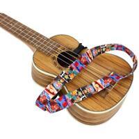 Cinghia per ukulele Cartoon Elk Owl per bambini e adulti, tracolla