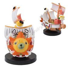 "JP Anime One Piece Mini Thousand Sunny Grand Ship 7cm/2.8"" Figure Loose Black"
