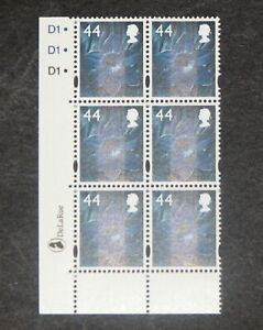 GB - WALES  2006  44p Daffodil definitive Plate block of 6  SG W103  MNH