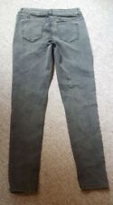 Next skinny jeans dirty distressed look size 12 long