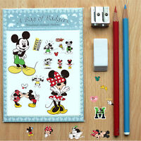 Mickey Mouse Minnie Vinyl Mural Wall Decals Sticker for Kids Child Room Decor UK