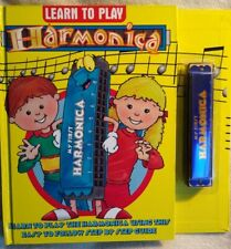 My First Harmonica & Learn to Play Instruction Book Kids Beginner by Big Face
