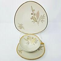 Vintage Winterling Marktleuthen Bavaria Sammeltasse Tea Cup Saucer Dessert Plate