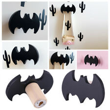 Bat Wooden Clothes Hook For Kids Room Wall Decorate Children Room Hanger Hook ES