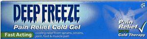 Deep Freeze Pain Relieving Gel 35g UK SELLER