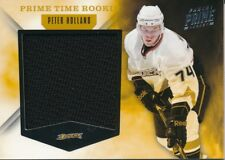 2011/12 Panini Prime #25 Peter Holland Prime Time Rookie Jersey Insert (41/99)