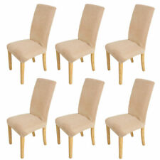 Stretch Dining Chair Cover Removable Washable Slipcover Dinning Cover 6 Pcs New