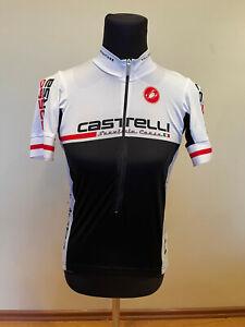 Brand New Original Castelli Rossa Corsa Cycling Jersey SHORT SLEEVES SIZE L Men