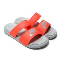 Nike Banassi Duo Ultra Slide 819717-604 Red Slippers Womens