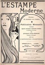 Mucha - Frontispice pour le premier volume de l'Estampe Moderne. 1898