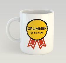 Drummer Award Funny Mug Gift Novelty Humour Birthday Drum Band