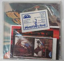 Heavy Metal Records Munsters Del Rock 1982 Nwobhm 7.6x17.8cm Pack Sellado 45