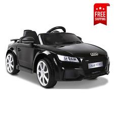 Kids Ride On Car Audi Licensed R8 Battery Electric Toy Black Remote 12V Cars