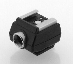 Minolta Original TTL Off Camera Flash Shoe (X-Series cameras)