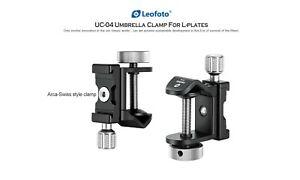 【Leofoto USA Seller】Leofoto UC-04 Multipurpose clamp For Umbrella