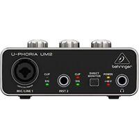 BEHRINGER UM 2 USB Audio Interface japan