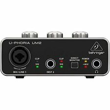 BEHRINGER UM 2 USB Audio Interface japan