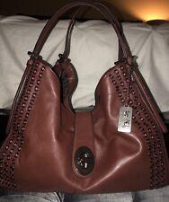 COACH Madison Grommet Carlisle shoulder bag leather brown