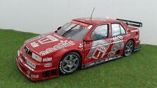ALFA ROMEO 155 V6 TI LARINI 1994 DTM ALFA CORSE 1/18 UT Mod MINICHAMPS 180940201