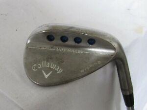 Used RH Callaway MD3 Milled Single 54* Sand Wedge - Stiff S300 Flex Steel