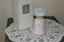 "Avon .1995.Porcelain Bell. ""Love'S Beginnings"" W /Box"
