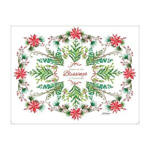 LANG Boxed Christmas Cards BLESSINGS Artwork by Lori Siebert