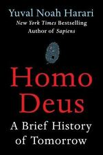 Homo Deus : A Brief History of Tomorrow by Yuval Noah Harari (2017, Hardcover)