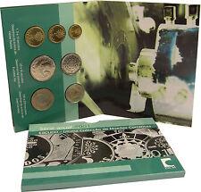 Portugal 386 Escudos 2001 KMS im Folder, der letzte Escudo Satz vorm Euro