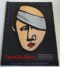 January 17, 1993 Washington Post Magazine ~ FAITH NO MORE