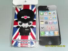 IPHONE 5G COVER RIGIDA PROTETTIVA SFONDO THE METROPOLITAN POLICE ART.54