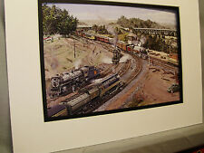 Canadian Pacific Royal Hudson at Bayview Junction Color Railroad Archives 0B