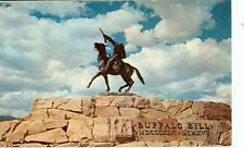 CODY WYOMING BUFFALO BILL MEMORIAL STATUE  (JL5-119)